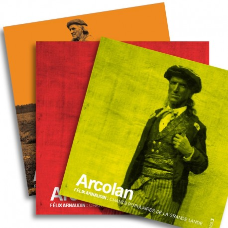 PACK 3 CD - Félix ARNAUDIN, Chants populaires de la grande lande - vol. 3